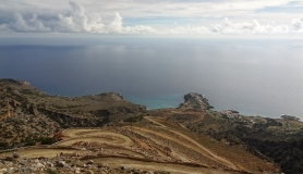 amazing downhill road