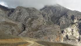 the rocks above Valacha canyon