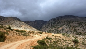 the last section before Agios Giannis village