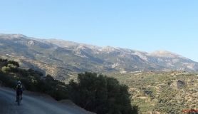 the view of Dikti mountains