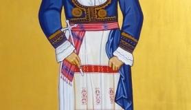 Agia Maria Methimopoula icon Voritsi