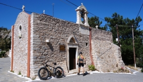 the old stone church at Haraso village