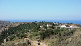 the downhill section from Haraso to Eleousas monastery