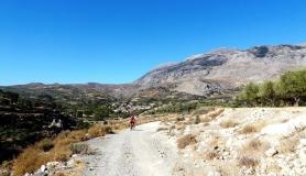 Agios Myronas Rizinia Vathia bike tour from Asite to Prinias