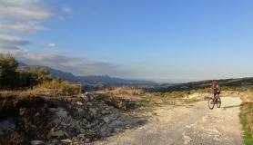Agios Myronas Rizinia Vathia bike tour from Pyrgou to Asites