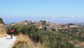 Agios Myronas Rizinia Vathia bike tour my village