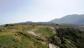 Agios Myronas Rizinia Vathia bike tour the path