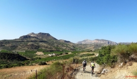 avgerinos Rocca mountainbike tour of Crete Giouchtas mountain