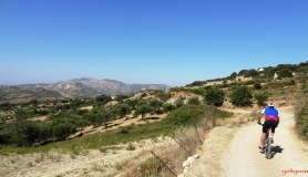 avgerinos Rocca mountainbike tour of Crete Giouchtas