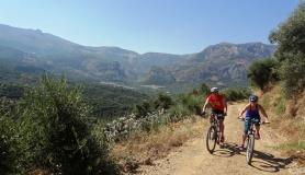 Rozas canyon, Ambelos canyon and Dikti mountains