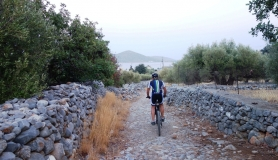 the old stone path from Ano to kato elounda