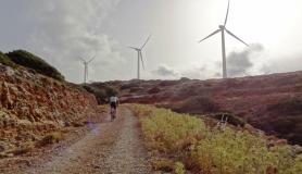 wind generators at Aforesmenos