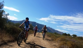 amazing bike view cyclingcreta bike rentals Crete guided tours