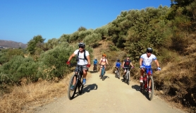 family bike tour cyclingcreta bike rentals Crete guided tours