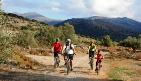 family bike tour for all cyclingcreta bike rentals Crete guided tours