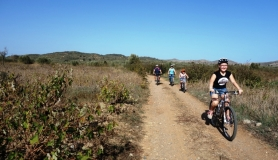 kids and family cyclingcreta bike rentals Crete guided tours