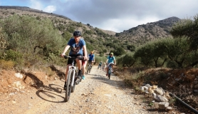 very easy tour cyclingcreta bike rentals Crete guided tours