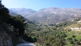 the mountains Kavrochori Korfes loutraki Kavalara moni tilisos mountain bike tour crete