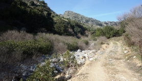 the small canyon Kavrochori Korfes loutraki Kavalara moni tilisos mountain bike tour crete