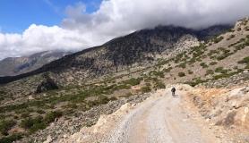 the wild landscape of Asterousia mountains