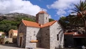 the churh at koudoumas monastery