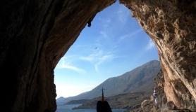 Agios antonios cave kapetaniana kofinas koudoumas mountain bike tour Crete Kreta