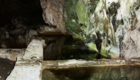 sisterns inside Agios Antonios cave kapetaniana kofinas koudoumas mountain bike tour Crete Kreta