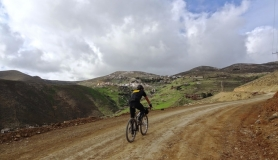 the village kapetaniana kofinas koudoumas mountain bike tour Crete Kreta