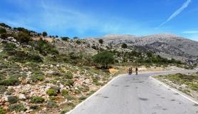 Kritsa Katharo uphill. Dikti mountains