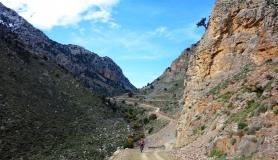 Vromonero canyon east Psiloritis - Urania