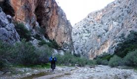 Agiofarago the canyon of the saints - Askitiki