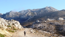 The minoan trail and Afentis summit - Diktea