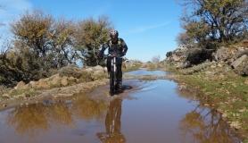 reflections on the water Mitato bike tour Crete