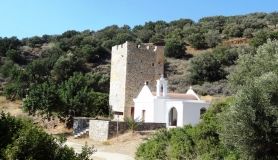 Kornaron tower at Mirsini village crete