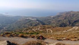 the view of Tourloti village