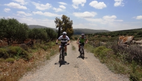 Pediada of Heraklion easy mtb tour cyclingcreta