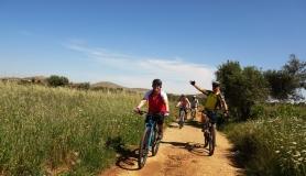 Pediada of Heraklion easy mtb tour cyclingcreta