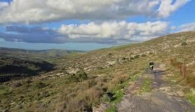 stone village bike tour Agios Thomas 1