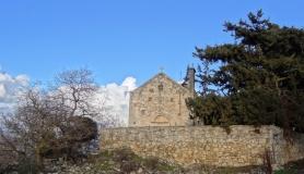 stone village bike tour Agios Thomas Axenti Agios Axentios church