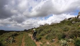 stone village bike tour Agios Thomas melissa castle