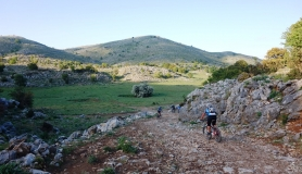 descenting into Tigania plateau