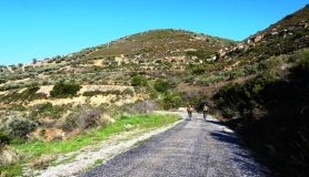 ascending to Vasilikos mountain
