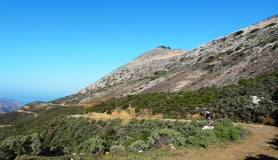 vasilikos mountain panoramic view