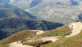 the downhill section from Vasilikos Mountain to Fodele village