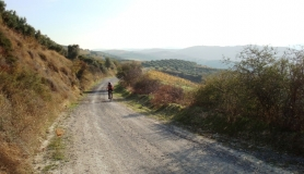 Xerolia mountain bike tour near Heraklion Crete on the way from Xerolia to Dafnes