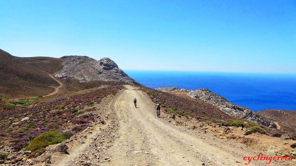 2 real crete bike and swimm south crete sterousia mountains tripiti agiofarago