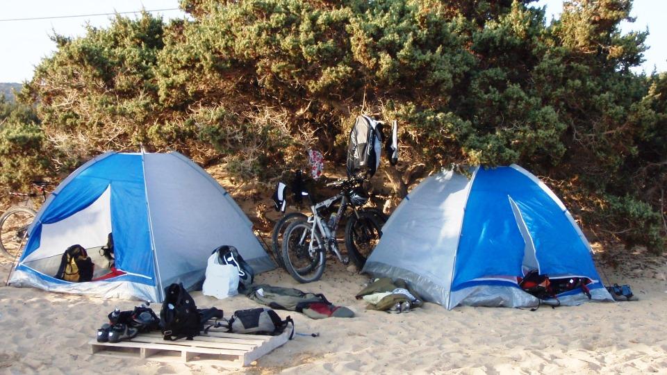 cycling & camping