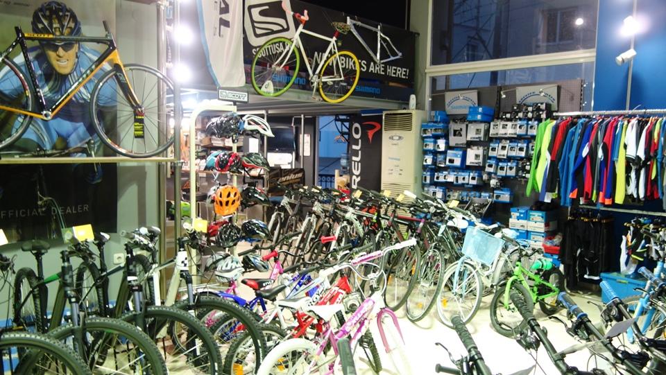 show room podilatis bikes Heraklion Crete