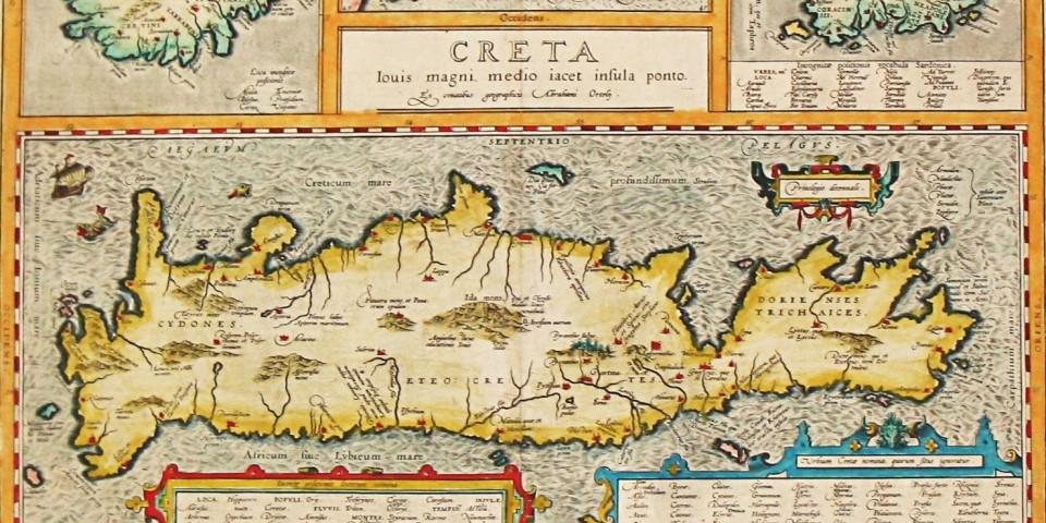 crete map venecian