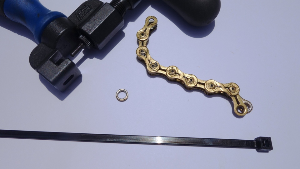 bike chain tool and washer
